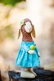 Moutons de textile faits main Photo libre de droits