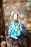 Moutons de textile faits main Photos libres de droits