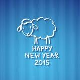 Moutons de vecteur Images stock