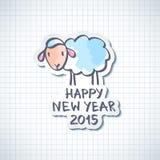 Moutons de vecteur Image stock