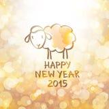 Moutons de vecteur Photographie stock libre de droits