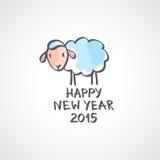 Moutons de vecteur Photos libres de droits