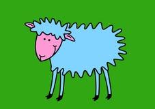 Moutons drôles Photographie stock libre de droits
