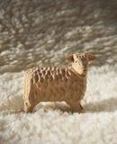 Moutons en bois Photographie stock
