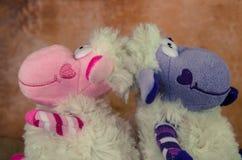 Moutons heureux de Pâques Photographie stock