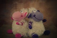 Moutons heureux de Pâques Image stock