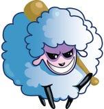 Moutons malveillants illustration stock