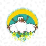 Moutons pour la célébration d'Eid al-Adha Image stock