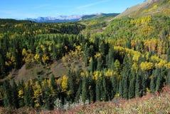 Moutons River Valley en automne Photographie stock libre de droits