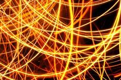 Mouvement abstrait de lumière de tache floue Photo libre de droits