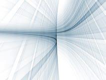 Mouvement abstrait de réseau Image libre de droits