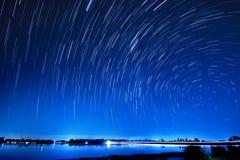Mouvement d'étoiles Images libres de droits