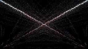 Mouvement d'imagination de particules, fond abstrait de mouvement d'imagination, shi Image stock