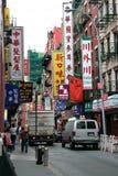 Mouvement de Chinatown Photos libres de droits