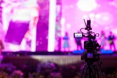 Mouvement de crochet d'image de viseur d'exposition de caméra de foyer de doux et de tache floue dans la cérémonie de mariage d'e photographie stock libre de droits