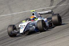 Mouvement de Daniil d'équipe de P1 Motorsport Image libre de droits