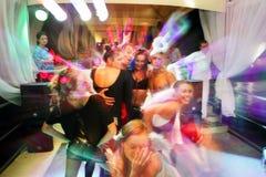 Mouvement de la jeunesse de disco image libre de droits