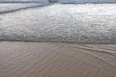 Mouvement de la marée image stock