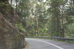 Mouvement de montagne de route Photos libres de droits