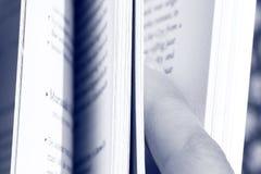 mouvement de pages de livre Photos libres de droits