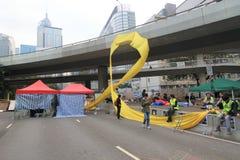 Mouvement de parapluie d'Amirauté en Hong Kong Photo libre de droits