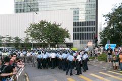 Mouvement de parapluie en Hong Kong Photo libre de droits