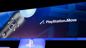 Mouvement de PlayStation chez Gamescom 2011 Image libre de droits