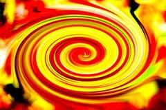 Mouvement giratoire de couleur Photos libres de droits