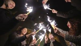 MOUVEMENT LENT : Amis avec la danse de cierges magiques clips vidéos
