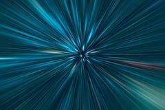 Mouvement superbe de vitesse rapide d'accélération Image libre de droits
