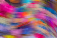 Mouvement superbe de vitesse rapide d'accélération colorée de couleurs Photographie stock