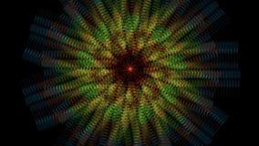 Mouvements abstraits d'écoulement d'hypnose illustration libre de droits