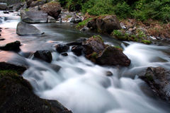 Mouvements de l'eau Image libre de droits