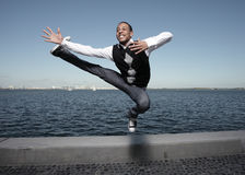 Mouvements frais de danse Photographie stock