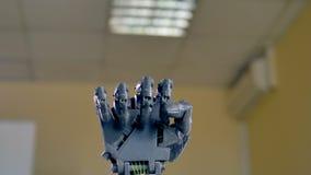 Mouvements précis de bras robotique électrique 4K