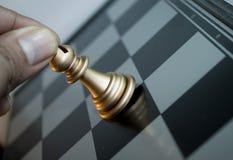 Mova a xadrez Foto de Stock
