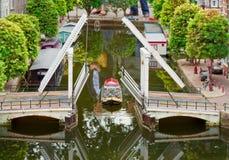 Movable bridge Royalty Free Stock Photos
