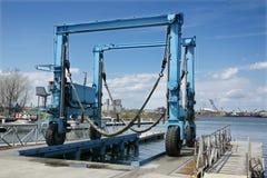 Movable crane Stock Photos