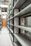 The movable shelves Royalty Free Stock Images