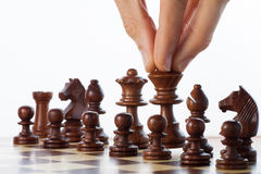 Move chess Royalty Free Stock Photo