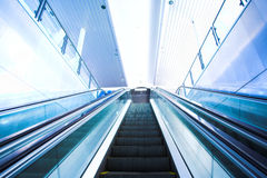 Escalator view Stock Images