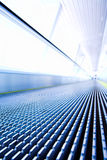 Move escalator in modern office Stock Image