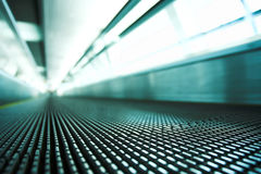 Moving walkway Royalty Free Stock Image