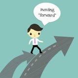 Move forward Stock Image