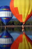 Move Over. Hot air balloons Stock Photos