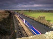 move train στοκ εικόνα