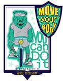 Move your body Royalty Free Stock Photos