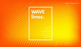 Abstract Wave Background. Movement Abstract. Wave Stripes. Geometric Template with Distorted Lines and Gradient. Flow Background in Minimal Style. Eps10 Vector vector illustration