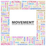MOVEMENT Royalty Free Stock Photos