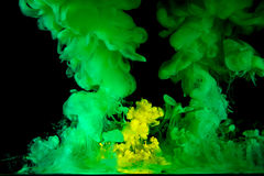 The movement color liquids Royalty Free Stock Photo